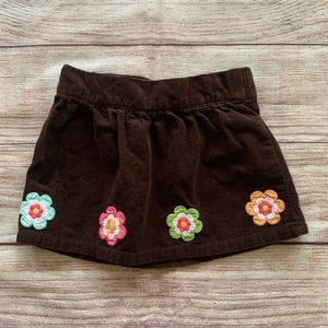 Gymboree corduroy skirt